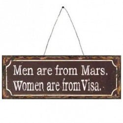 Men Are From Mars Metal...