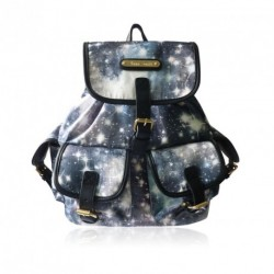 Rucksack - Anna Smith Black Cosmos Rucksack Cosmic Space Backpack LYDC School Twinkle Stars