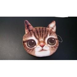 Kinder-Geldbeutel - weich Kinder Mädchen niedliche Katze Kitty Artgeldbeutel Parteibeutel mini Geldbörse fühlen