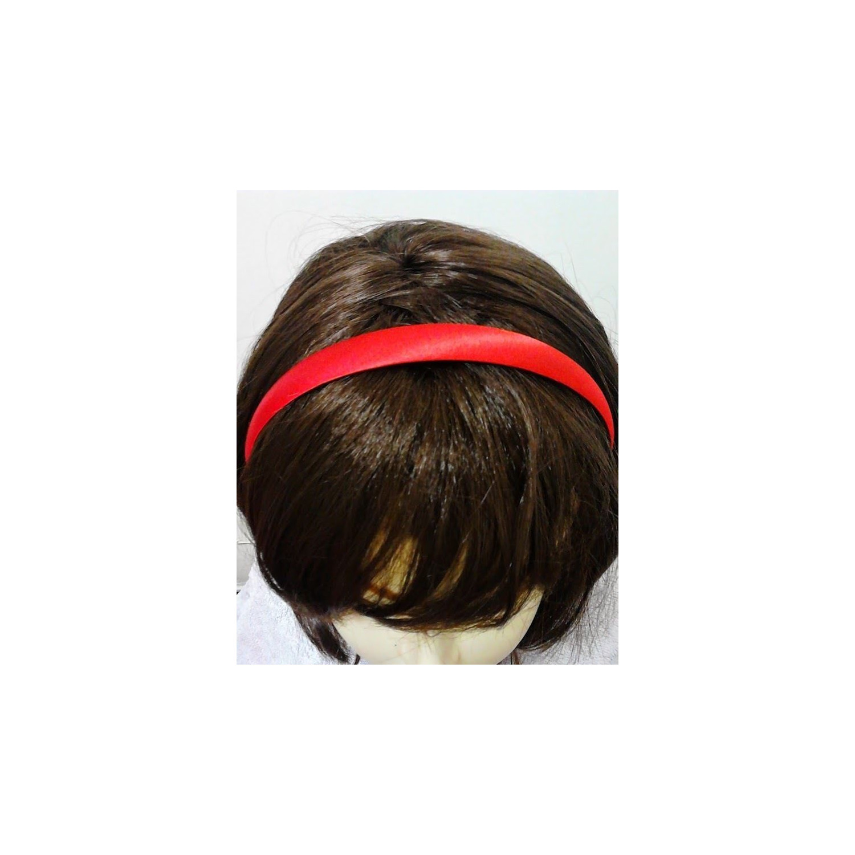 Red Shiny Satin 1.8cm School Girls Ladies Headband Hair band Aliceband Christmas