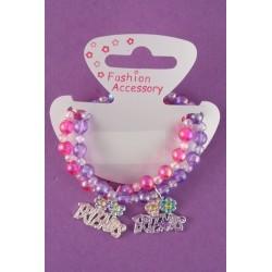 A friends pair of beaded bracelets