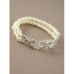 Double row pearl bracelet...