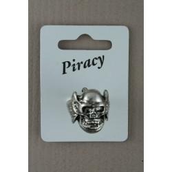Large Piracy Skull Rings