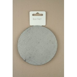 Hair bun net - Fine Black Mesh Bun shaper net