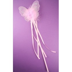 Pink Butterfly wands. In 3 different styles.