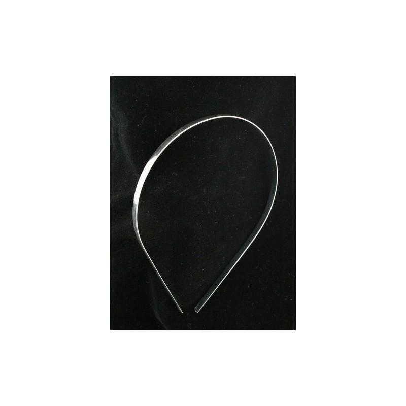 simple tiara de banda base en silv. (Ideal para hacer sus propias tiaras)