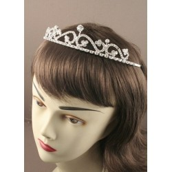 14cm Silv Wave Crystal Tiara. This item comes packed in a...