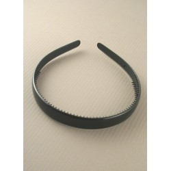 Aliceband - Plain black wide (1.5cm) headband alice band