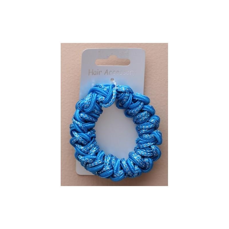 farvestrålende ledning scrunchie. i pink / lilla / blå / orange / råber ...