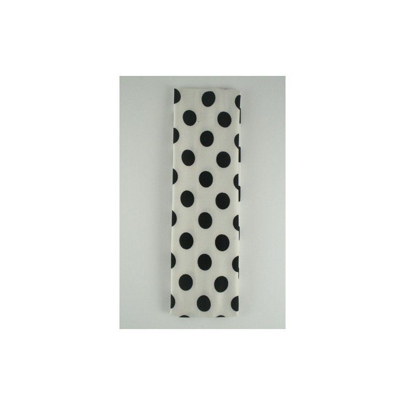 diadema - estiramiento en blanco y negro diseño de la tela kylie banda de banda para la cabeza