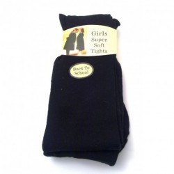 Girls Tights - Super Soft back to school black tights