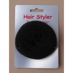 Hair Bun shaper - Black bun...