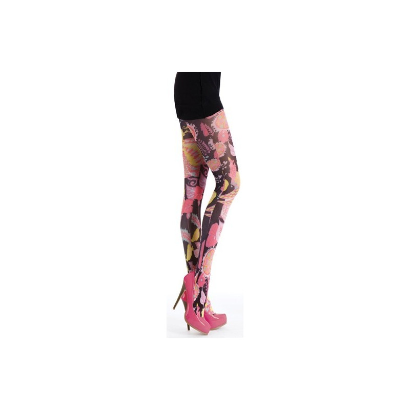 Silky Valentino Wings of Love - Tattoo Tights