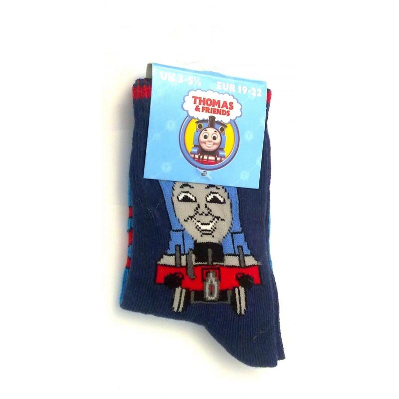 Thomas & Friends Socks - One Pair of colourful stripy boys socks