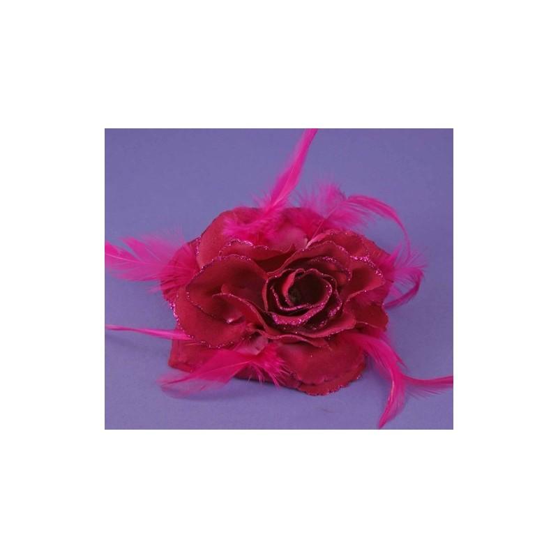 hair flower elastics