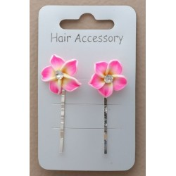Decorated Kirby Hair Grips...