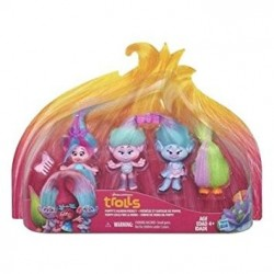 Dreamworks Trolls 13964 Troll Town Figure (Small, Multi-Pack)