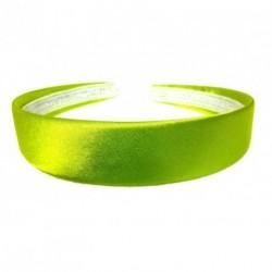 Aliceband - Brightly coloured plain 2.5cm wide satin...