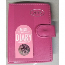 2017 pocket personal organizer diary with address book