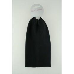 Headband - Extra Wide (9cm) black hair fashion stretch...