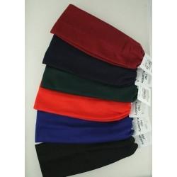 Headband - Plain school colour stretch fabric kylie band head bands