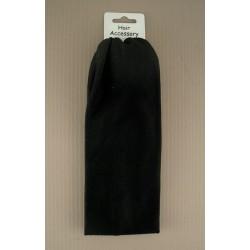 Headband - Black 22 x 7 cm approx size stretch fabric...