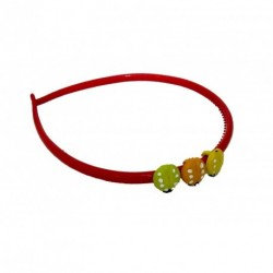 Aliceband - Ladybird Trio Colourful headband Alice band
