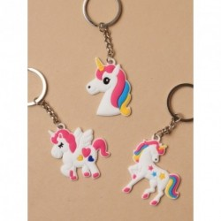 Keyring - Unicorn Charm keyring choice of 3 designs
