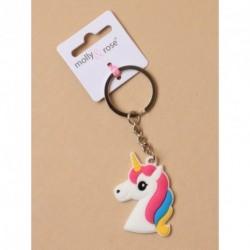 Keyring - Unicorn Charm keyring choice of 3 designs