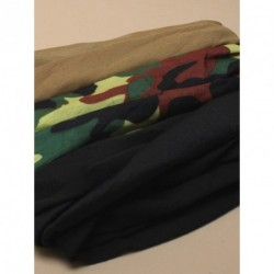 Fabric snood - In camouflage, khaki, or black