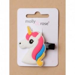 Unicorn Beack Clips - Unicorn motif beak clip in choice...