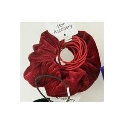 Velvet Scrunchie and...
