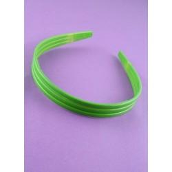 aliceband - triple fila - de colores brillantes banda alice banda