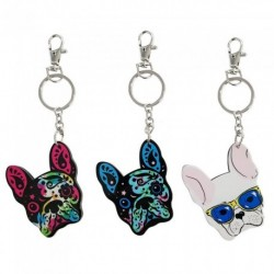 Keyring - Bulldog novelty...