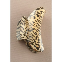 Nove centímetros clamp animal print.