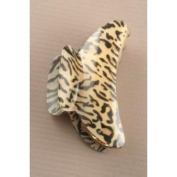 Hair Clamp - Animal print 9cm hair clamp