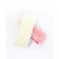 Fluffy head band - Ladies warm pink or cream faux fur...