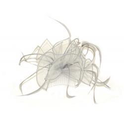 Fascinator Comb - Silver...